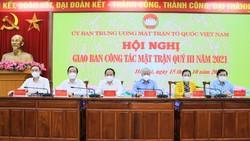 Hội nghị MTTQ ngày 15-10