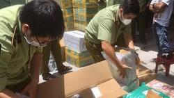 QLTT TPHCM kiểm tra lô hàng vi phạm trên địa bàn TP