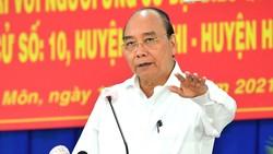 Chủ tịch nước Nguyễn Xuân Phúc: đưa huyện Hóc Môn, Củ Chi trở thành thành phố phía Tây, cực tăng trưởng mới của TPHCM