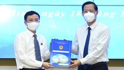Đồng chí Đặng Quốc Toàn giữ chức vụ Chánh Văn phòng UBND TPHCM