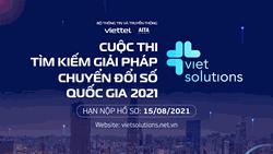Khởi động cuộc thi Viet Solutions 2021