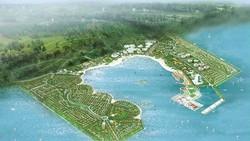 Mô hình Dự án Khu đô thị lấn biển Cần Giờ