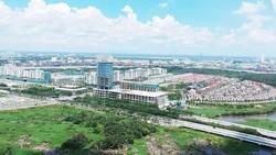 Một góc Khu đô thị mới Thủ Thiêm