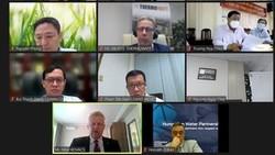 Buổi kết nối trực tuyến doanh nghiệp ngành nước giữa Việt Nam - Hungary do Liên hiệp Các hội khoa học và kỹ thuật TPHCM tổ chức