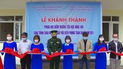 Khánh thành phòng học tại điểm Trường Tiểu học Hồng Vân 