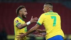 """Venezuela khủng hoảng nhưng Brazil sẽ không """"nương chân"""" với Neymar và Richarlison dẵn dắt hàng công."""