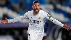 Sergio Ramos trong những lần cuối khoác áo Real Madrid ở mùa qua. Ảnh: Getty Images