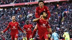 Mohamed Salah khiến đồng đội phấn khích sau tuyệt phẩm trong trận hòa Man.City 2-2.