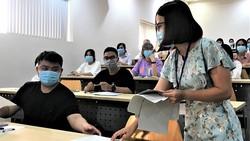 Thí sinh tham gia kỳ thi ĐGNL đợt 1 do ĐH Quốc gia TPHCM  tổ chức ngày 28-3