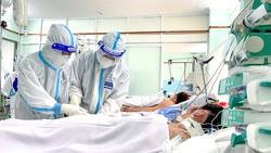 Khu K1 Bệnh viện phụ sản Hùng Vương, là nơi điều trị  các thai phụ mắc Covid-19. Ảnh: HOÀNG HÙNG
