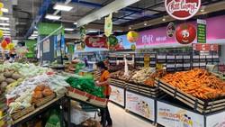Nhiều hàng nông sản của ĐBSCL được kết nối  bán tại các kênh siêu thị TPHCM
