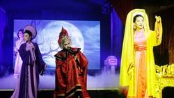 Cảnh trong vở Độc thoại đêm ở Sân khấu Sen Việt