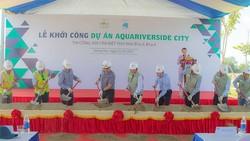 Hòa Bình khởi công xây dựng dự án Aqua Riverside City