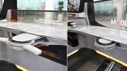 Vô lăng có thể di chuyển của Hyundai Mobis