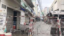 Rào chắn tại hẻm 80 đường Trần Quý, phường 4, quận 11