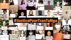 Những người ủng hộ công lý trong vụ kiện của bà Tố Nga