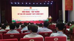 Hội nghị tập huấn về thi tốt nghiệp THPT năm 2021. Nguồn: Chinhphu.vn