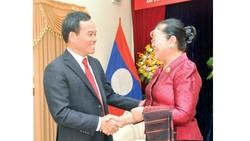 Lãnh đạo TPHCM chúc Tết cổ truyền Lào