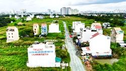 Dự án KDC 13A thuộc khu đô thị Nam TPHCM hoang hóa sau hơn 15 năm triển khai