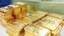 Giá vàng SJC cao hơn thế giới 4,5 triệu đồng/lượng