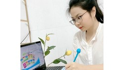 Dạy trực tuyến cho học sinh tiểu học: Nội dung tinh giản, thời gian linh hoạt