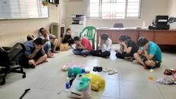 Nhóm đối tượng sát phạt bằng hình thức đánh bài cào 3 lá ăn tiền ở quận 8