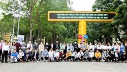 Đông đảo các bạn trẻ khắp nơi đến thăm môi trường học tập lý tưởng ở Đại học Trà Vinh