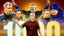 Jose Mourinho thừa nhận đây là chiến thắng khó quên trong đời