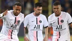 Neymar, Messi và Kylian Mbappe