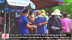 Co.opmart Nguyễn Kiệm nỗ lực phục vụ khách hàng và phòng chống dịch  