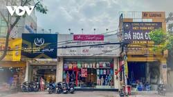 Mặt bằng trên đường Nguyễn Thị Thập (Quận 7, TPHCM), hút khách với giá thuê trung bình từ 79 triệu/tháng cho 1 căn nhà 2 tầng.