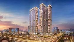 Phối cảnh dự án Happy One – Central, TP Thủ Dầu Một, tỉnh Bình Dương.