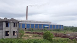 Một góc nhà máy xử lý rác Nghĩa Kỳ, lò đốt số 2 được xây dựng không phép, vận hành khi chưa đánh giá môi trường công nghệ.
