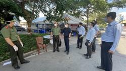 Phó Chủ tịch UBND TPHCM Dương Anh Đức kiểm tra đột xuất một số khu vực cách ly