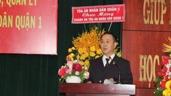 Điều động Chánh án TAND quận 1 Nguyễn Thành Vinh làm Chánh án TAND TP Thủ Đức