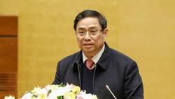 Đồng chí Phạm Minh Chính, Trưởng Ban Tổ chức Trung ương giới thiệu Hướng dẫn số 36 của Ban Tổ chức Trung ương về công tác nhân sự