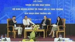 Các diễn giả đều cho rằng Chính phủ cần có những giải pháp thiết thực, mạnh mẽ và chuyên biệt hơn để giúp hộ kinh doanh hồi phục, phát triển