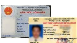 Thẻ căn cước công dân sẽ dần thay thế giấy phép lái xe