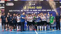 Thái Sơn Nam đăng quang ở giải đầu tiên trong năm 2021