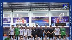 Đội trẻ Thái Sơn Nam đang là ĐKVĐ giải futsal trẻ TPHCM