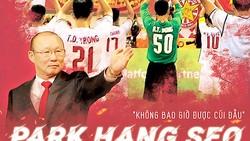 HLV Park Hang-seo, người gắn liền với những thành công của bóng đá Việt Nam trong 3 năm qua