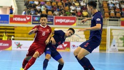 ĐT futsal Việt Nam dự kiến sẽ đá giao hữu cùng Thái Lan