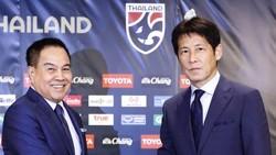 Thái Lan chia tay HLV Akira sớm hơn 6 tháng so với hợp đồng. Ảnh: FAT