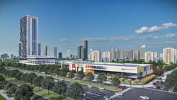 Phối cảnh thiết kế Trung tâm Thương mại Thế giới Thành phố Mới Bình Dương
