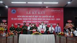 TP Đà Nẵng ký kết với Tập đoàn Viettel về chuyển đổi số và xây dựng thành phố thông minh