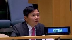 Đại sứ, Trưởng Phái đoàn Việt Nam tại Liên hợp quốc Đặng Đình Quý. Ảnh: TTXVN