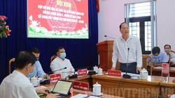 Ứng cử viên Nguyễn Hồ Hải, Phó Bí thư Thành ủy, Trưởng Ban Tổ chức Thành ủy TPHCM phát biểu tại hội nghị. Ảnh: thanhuytphcm