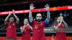Bồ Đào Nha giành quyền lọt vào tứ kết Futsal World Cup 2021. Ảnh: GETTY