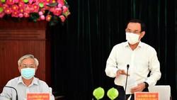 Bí thư Thành ủy TPHCM Nguyễn Văn Nên: Làm tốt từng phần việc, Nhà Bè sẽ đạt được mục tiêu lên quận