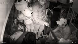 Ba đối tượng hành hung dã man lái xe khách đã đến trình diện công an